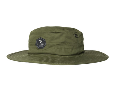 Vissla Boonie Hat - Sun Protection Hat - Surf Hat - Safari Hat - Green 1ed3f27d448b