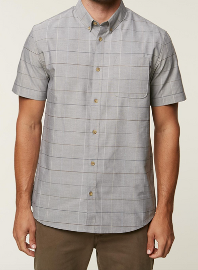O'Neill Gridlock Button Up Shirt - Mens Shirt -