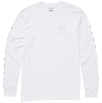 Billabong Unity Sleeves Long Sleeve T-Shirt - White