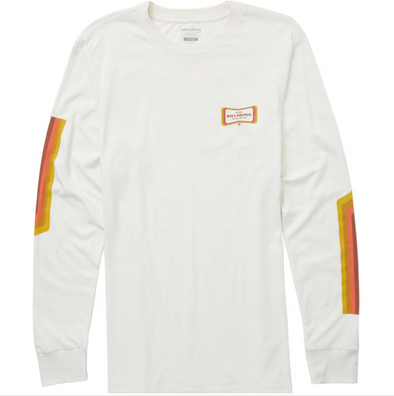 Billabong Pulse Long Sleeve Tee Shirt - ROC - white