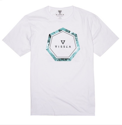 VISSLA Header Tee - Mens T shirt