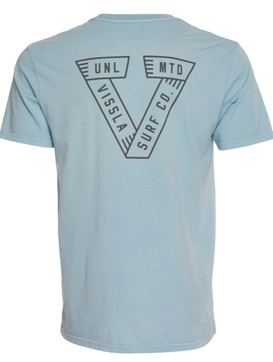 VISSLA Built Right Dye Tee - Mens T shirt