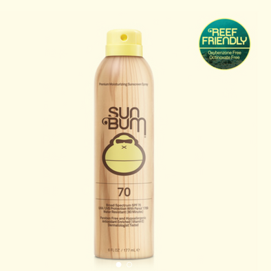 Sun Bum Original SPF 70 Sunscreen Spray - 6oz
