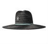 Vissla Straw Hat - Tower 7 Lifeguard Hat - Black