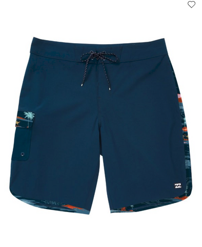 Billabong 73 Pro Boardshorts - NAVY - 19""