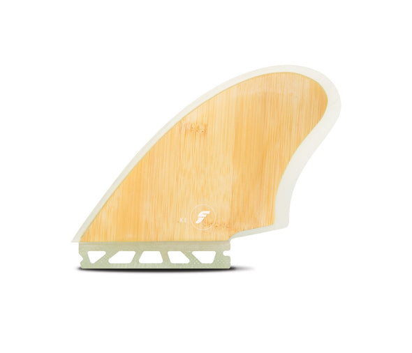 Futures Twin Fin K1 Honeycomb - Bamboo Fins - Free shipping