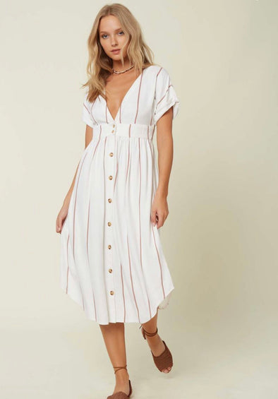 O'Neill Reid Midi Dress