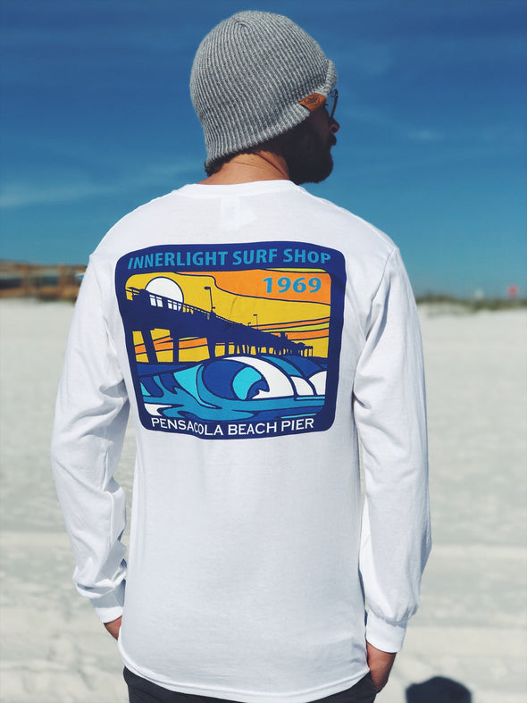 Pensacola Beach Pier long sleeves