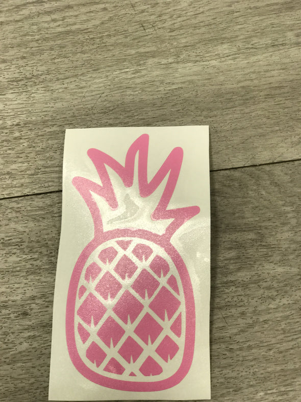 Vinyl pineapple sticker