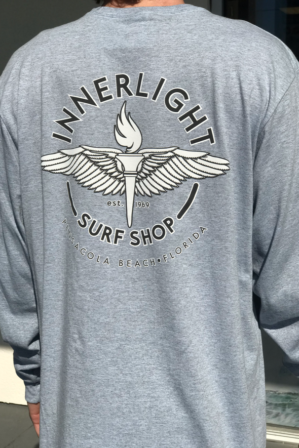 Innerlight Wing Torch Longsleeve Tee