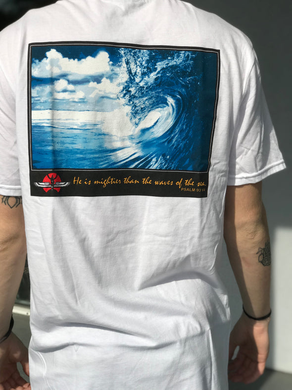 Innerlight He Is Mightier Than The Waves of The Sea Tee