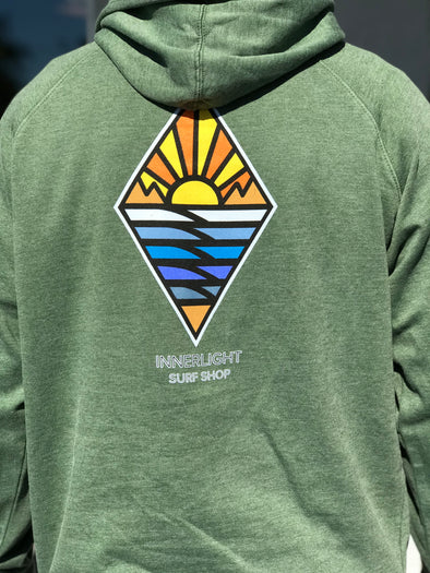 New Diamond Zip Up Hoodie