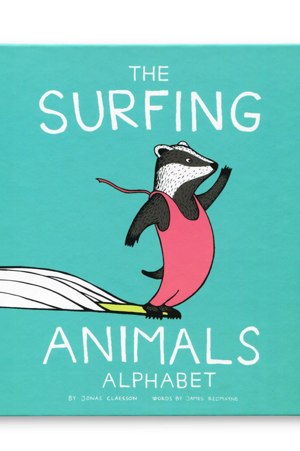 Jonas Claesson Surfing Animals Kids Book