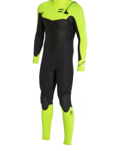 Billabong Boys Foil Chest Zip Fullsuit