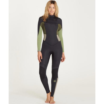 Billabong 4/3 Synergy EZ Chest Zip Fullsuit