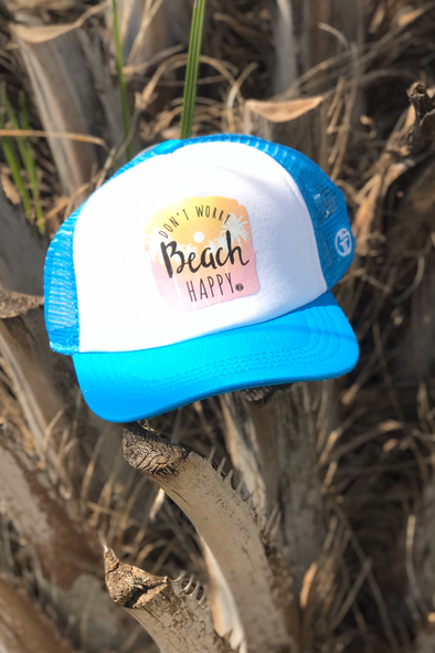 Don't Worry Beach Happy Hat