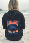 Innerlight Retro Sunset Womens Pullover Hoodie