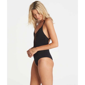 Billabong Hippie Hooray Crochet One Piece