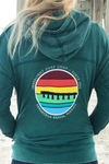 Innerlight Ladies Retro Pier Pullover Hoodie
