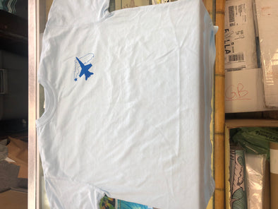Blue Angel Tee White Size Large