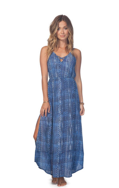 Rip Curl Blue Tides Maxi Dress
