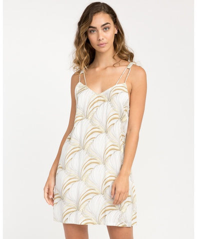 RVCA Marigold Printed Dress