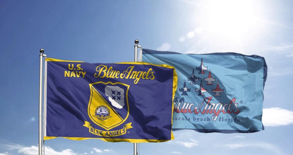 Blue Angel Flag