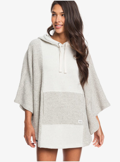 Roxy Summer Surf Oversized Poncho Hoodie