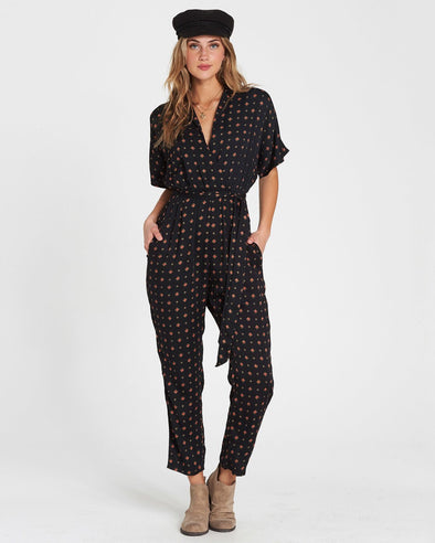 Billabong Bed Story Printed Jumpsuit