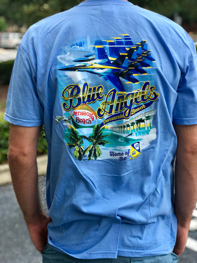 Blue Angels Pensacola Beach Short Sleeve Tee
