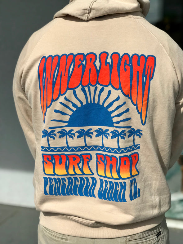 Innerlight Retro Sunset Pullover Hoodie