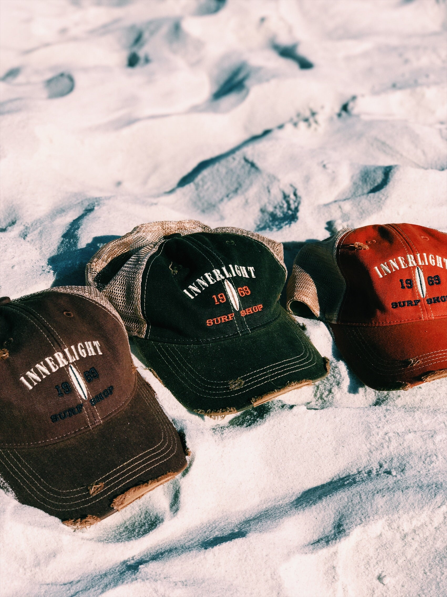Innerlight hat - Distressed Trucker - Innerlight Surf Shop 3b1c0b1f49ab