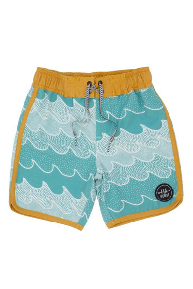 Feather 4 Arrow Cosmic Waves Toddler Boardshort