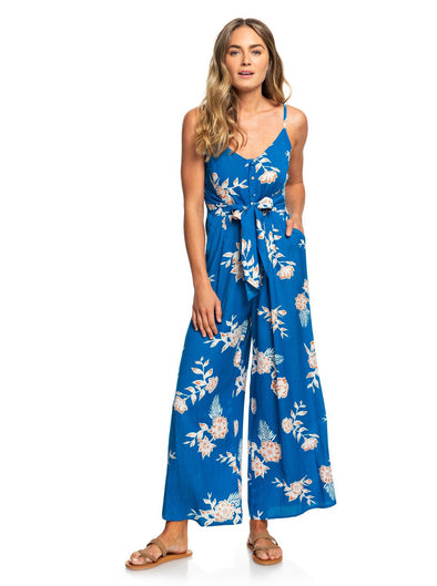 Roxy Wheel And Palms Jumpsuit