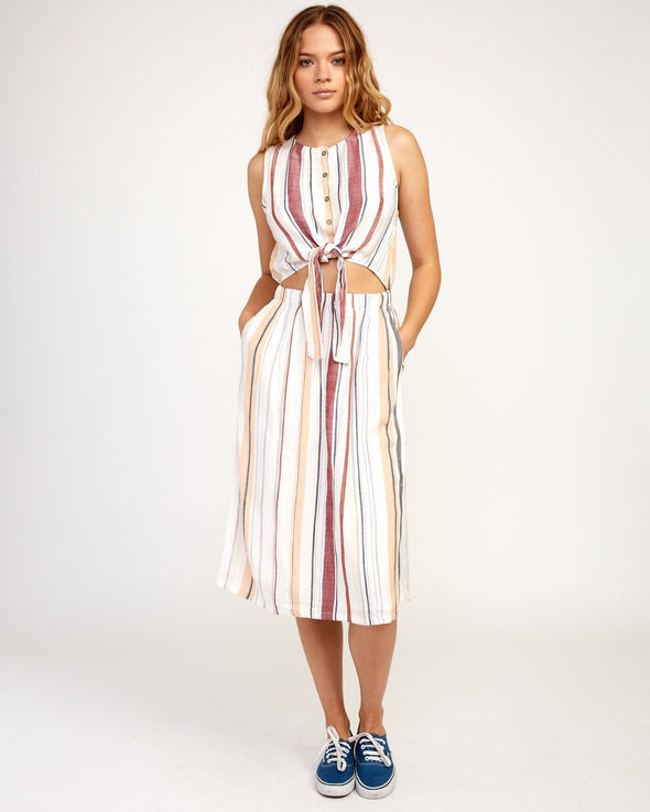 RVCA Arizona Woven Midi Dress