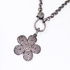 Daisy Charm on chain necklace