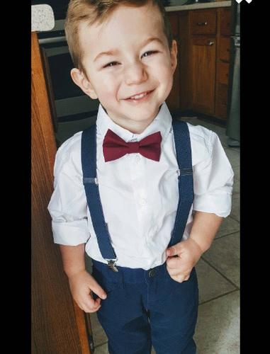 Burgundy Bow tie Navy Blue Suspenders Mens bowtie Rustic Wedding Burgandy Ring Bearer Outfit Groomsmen Bow ties Toddler Boys Bowties kids