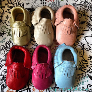 GOLD Baby Moccasins Gold Moccasin Toddler Mocs Metallic Boots Genuine Leather Boots Christmas Gifts