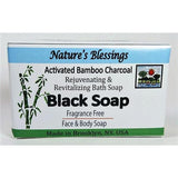 Activated Bamboo Charcoal Black Soap