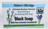 Activated Bamboo Charcoal Soaps