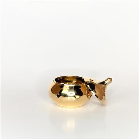 Heart Brass Burner 3""