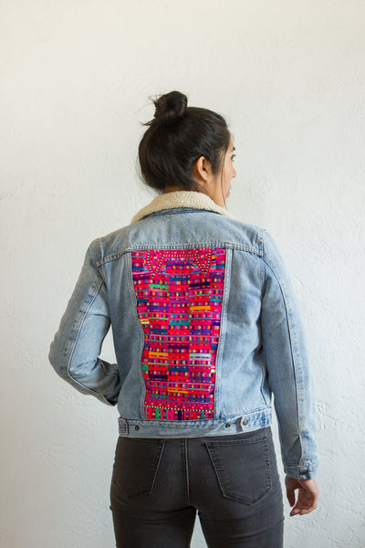 Cancuc Eternidad Jean Jacket