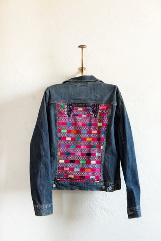 Cancuc Sol Jean Jacket - Large