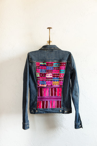 Cancuc Fiesta Jean Jacket - Small