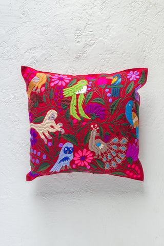 Zinacantán Búho Pillow