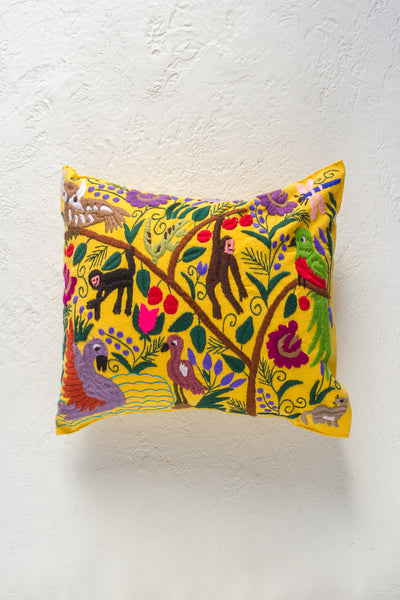 Zinacantán Sol Pillow