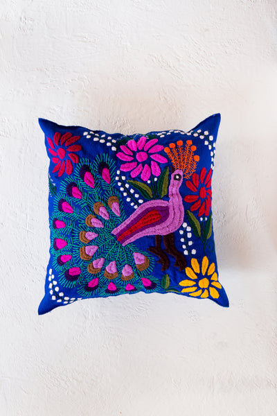 Zinacantán Pavo Real Pillow