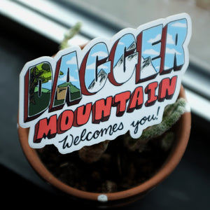 Vinyl Welcome Sticker