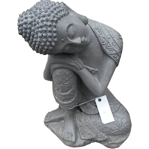Asian Statue, Sleeping Buddha Statue, Small