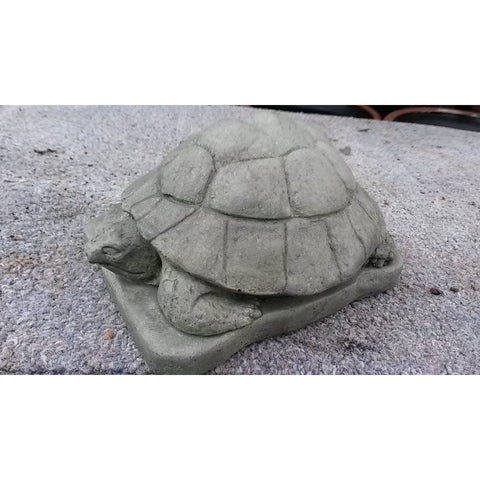 Turtle Statue, Painted